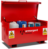 Armorgard Chemical Site Storage
