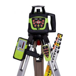 Imex 88G Rotating Laser Level With Green Beam - FULL KIT