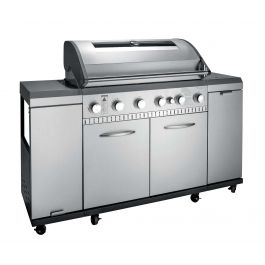 Landmann Grill Chef Premium 6.1 Six Burner Stainless Steel Gas BBQ