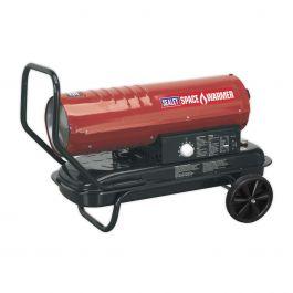 Sealey AB7081 Space Warmer 70,000 Btu Paraffin / Kerosene / Diesel Heater 230v