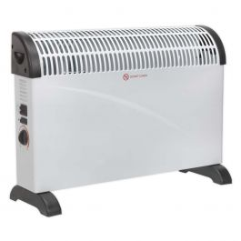 Sealey CD2005T 2kW Convector Heater With Fan 230v