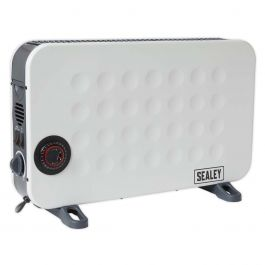 Sealey CD2013TT 2kW Convector Heater With Fan & Timer 230v