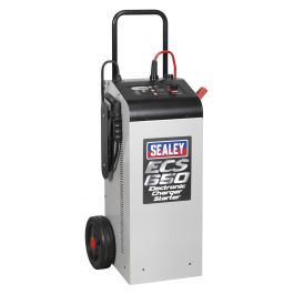 Sealey Electronic Charger Starter 100/650A 12/24V