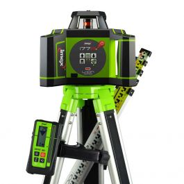 Imex i77R Rotating Laser Level With Red Beam - FULL KIT