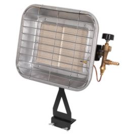 Sealey LP13 Space Warmer 15,354 Btu Propane Heater With Bottle Mounting