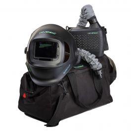 Universal Quantum PAPR Air Fed Flip-Up Welding Helmet Kit
