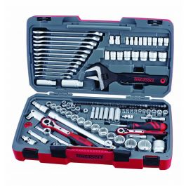 Teng Tools 127 Piece Mixed Drive Socket & Tool Set