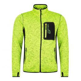 Arbortec AT4900 Kudu Plus Melange Zip Sweater Jacket Yellow