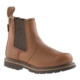 Buckler B1100 Buckflex Goodyear Welted Non-Safety Dealer Boots Tan