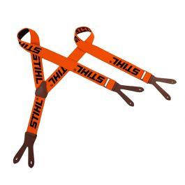 Stihl Orange Braces With Button Holes