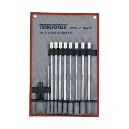 """Teng Tools 10 Piece 3/8"""" Drive T Bar Deep Metric Socket Set"""