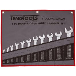 Teng Tools 11 Piece Double Open Ended Spanner Set