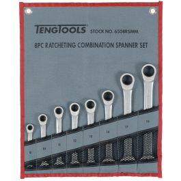 Teng Tools 8 Piece Ratchet Spanner Set