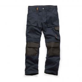 Scruffs Worker Trousers Navy