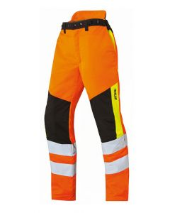 Stihl Protect MS Cut Protecton and Hi-Vis Trousers Orange