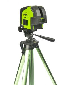Imex LX22 Cross Line Laser Level With Red Beam With Tripod