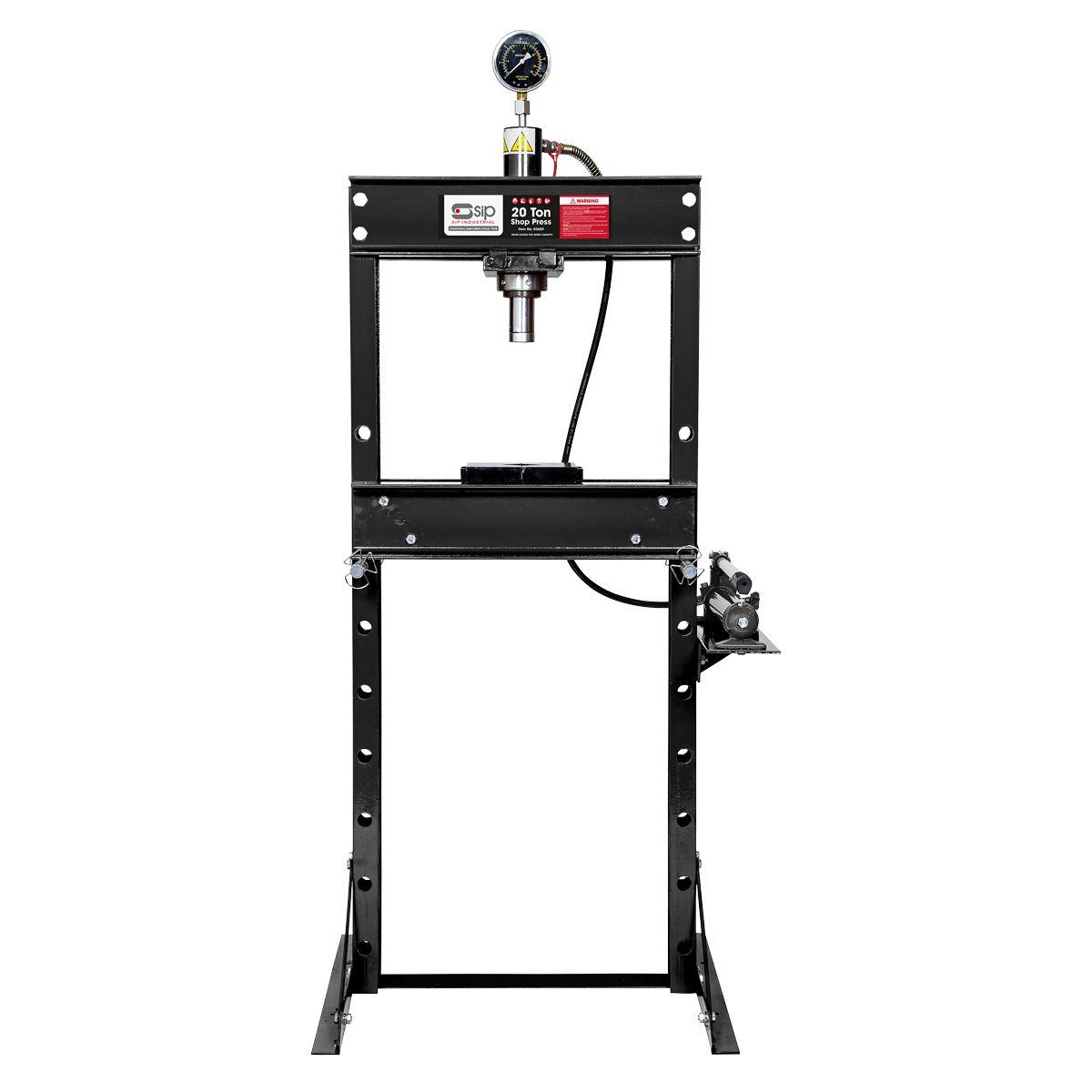 SIP 20 Ton Hydraulic Floor Press