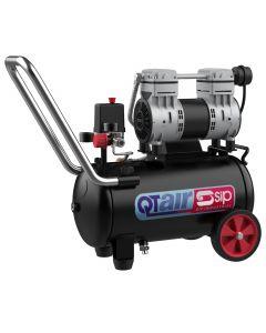 SIP QT24/10 25 Litre 1.3HP Low Noise Compressor 230v