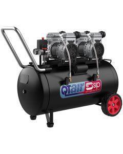 SIP QT100/10 100 Litre 1.3HP Low Noise Compressor 230v