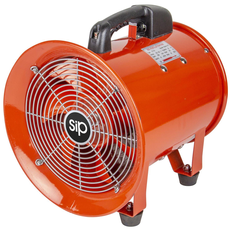 """SIP 10"""" Portable Ventilator 230v"""
