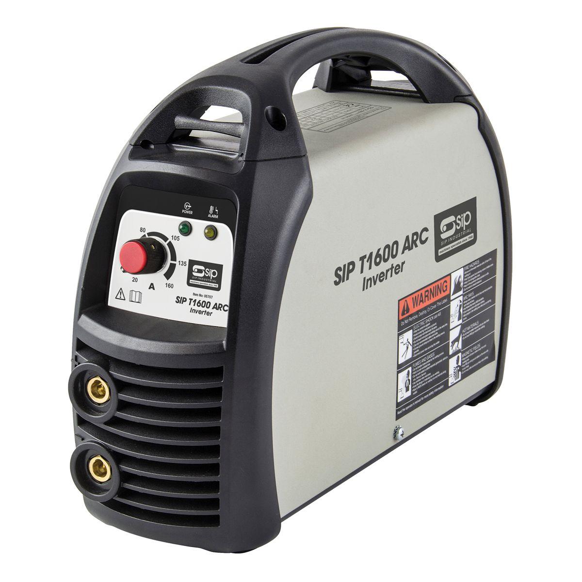 SIP T1600 160 Amp Inverter Arc Welder 230V