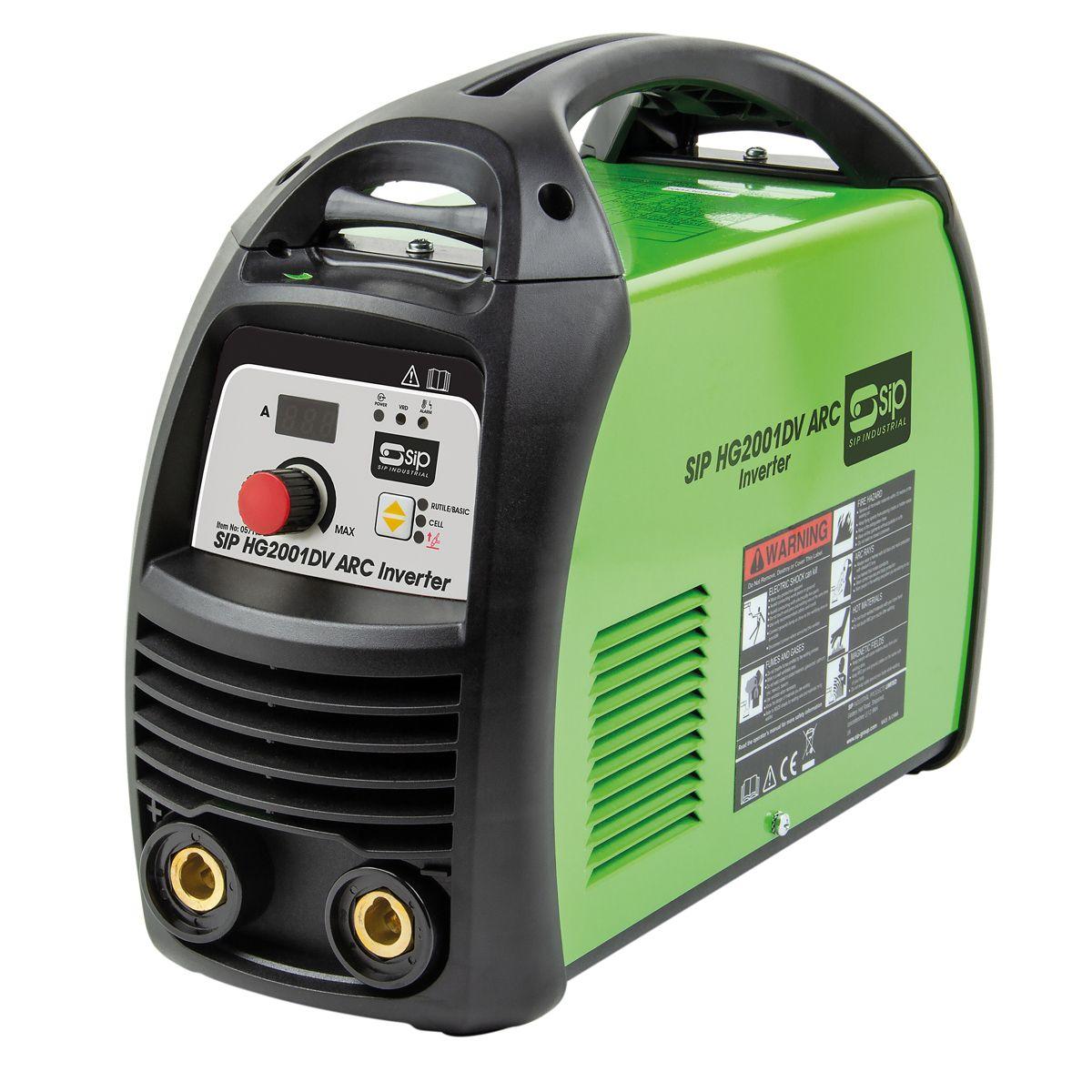 SIP HG2000DV 200 Amp Dual Voltage Inverter Arc Welder 230 / 110V