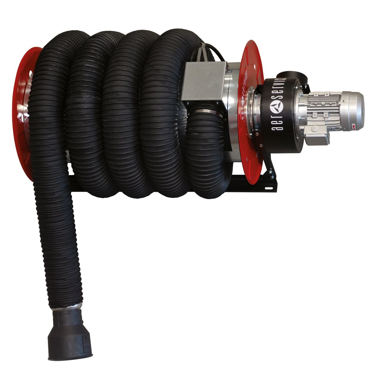 SIP ARHV Wall-Mounted 100mm Hose Reel 400v