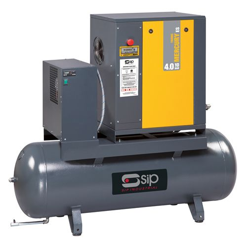SIP Mercury Tronic ES Screw Air Compressors 415v With Dryers