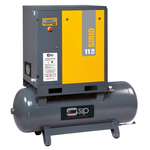SIP Sirio Screw Air Compressors 415v