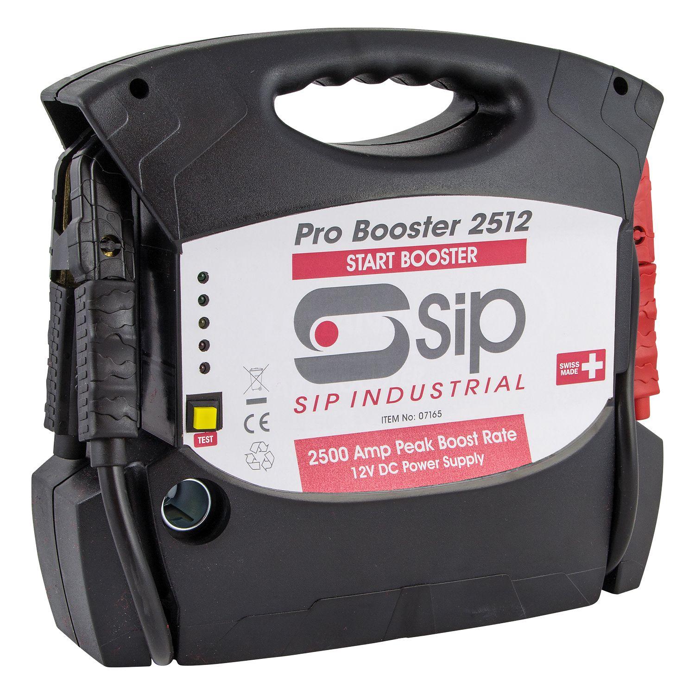 SIP Pro Booster 2512 12v Jump Starter Pack