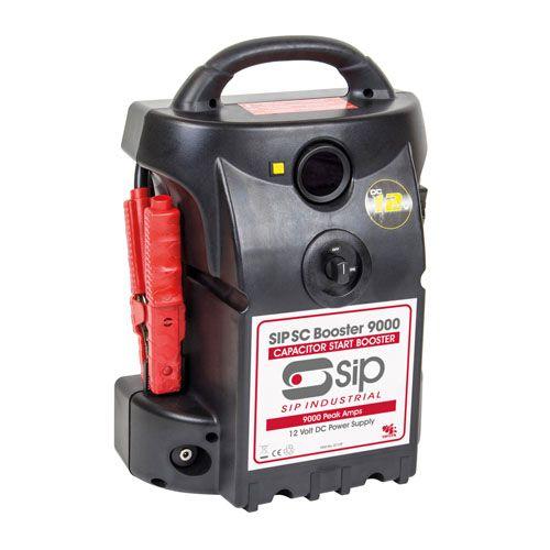 SIP SC Pro Booster 9000 Batteryless 12v Jump Starter Pack