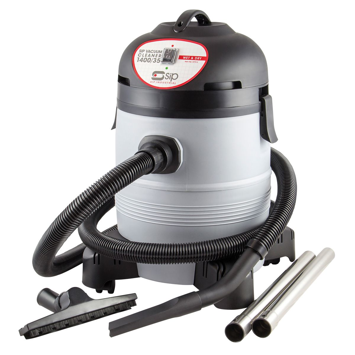 SIP Wet & Dry Vacuum Cleaner 1400w 35 Litre