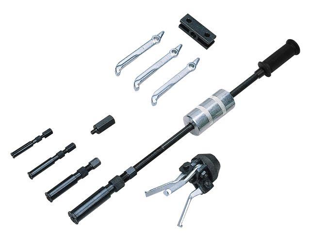 Sykes Pickavant Slide Hammer Puller Kit Combi Pull & Split Collets Extractor