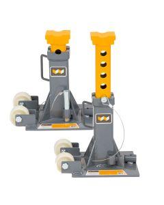 Winntec 12 Ton Trolley Jack Stands