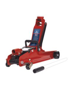 Sealey Trolley Jack 2tonne Low Entry Short Chassis
