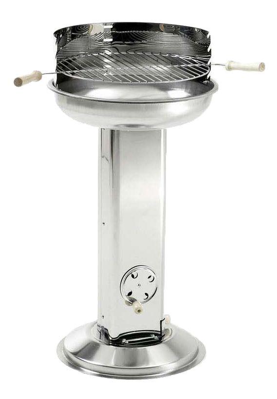 Landmann Grill Chef Stainless Steel Pedestal Charcoal BBQ