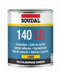 Soudal 140LQ Liquid Contact Adhesive Yellow 750ml