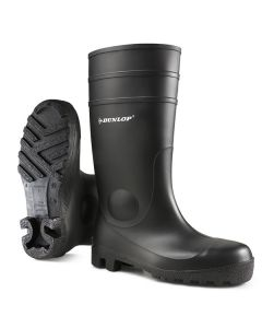 Dunlop Protomastor Full Safety Wellington Boots Black