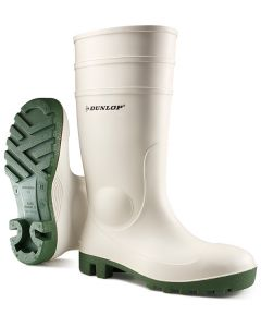 Dunlop Protomastor Safety Wellington Boots White