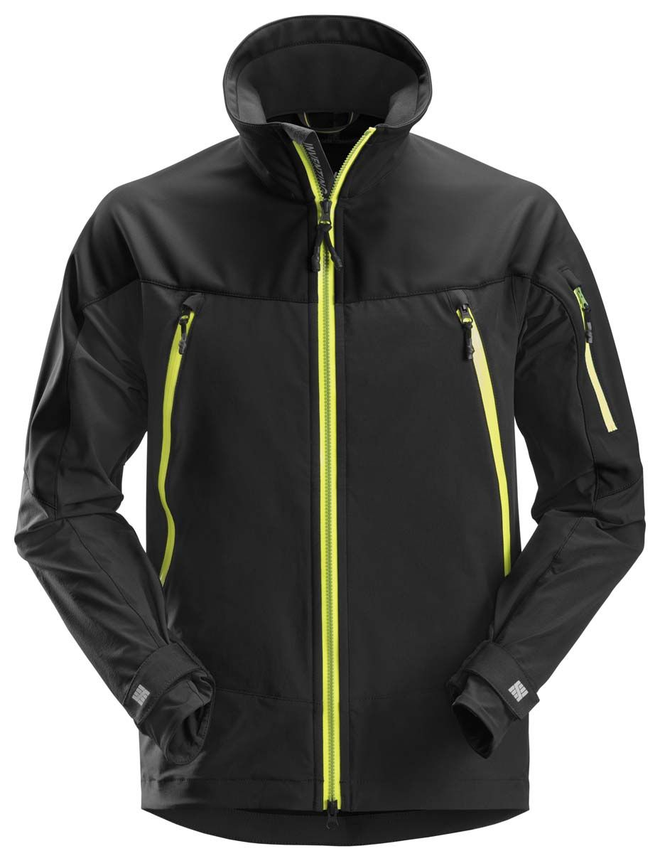 Snickers 1940 Softshell Stretch Jacket Black