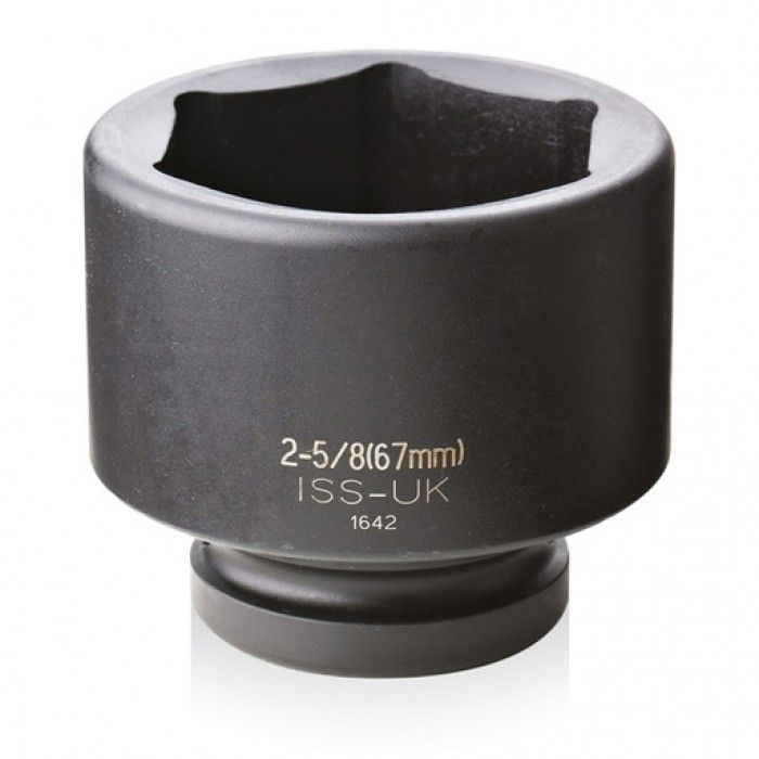 """ISS 1"""" Drive Imperial 6 Point Impact Sockets"""