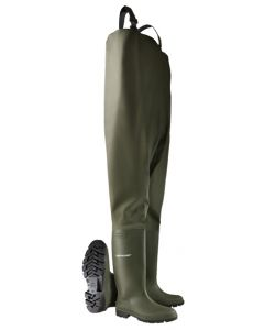 Dunlop Pricemastor Non-Safety Chest Wader Green