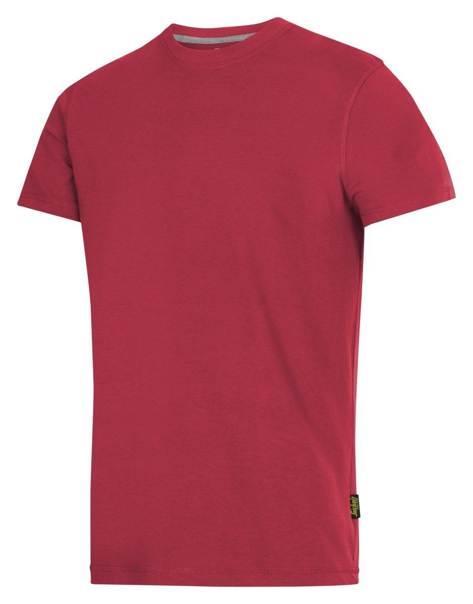 Snickers 2502 Classic T-Shirt Red