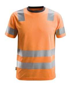 Snickers 2530 Allround Work High-Vis T-Shirt Class 2 Orange
