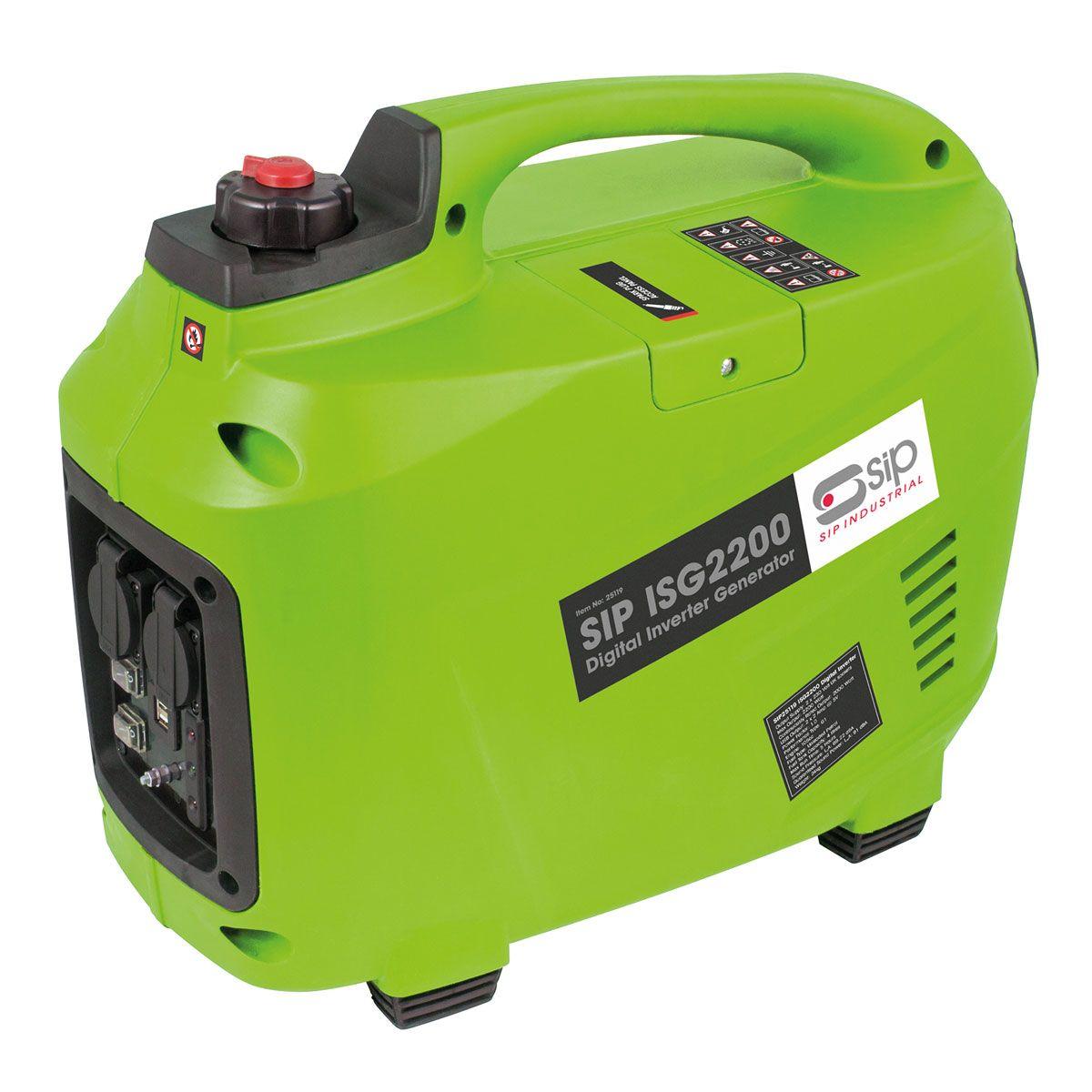 SIP ISG2200 Digital Petrol Inverter Generator