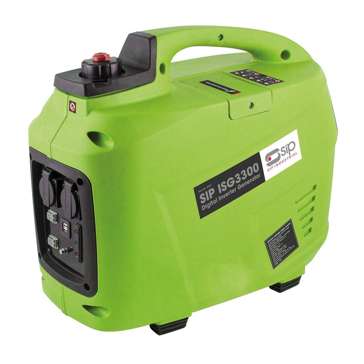 SIP ISG3300 Digital Petrol Inverter Generator