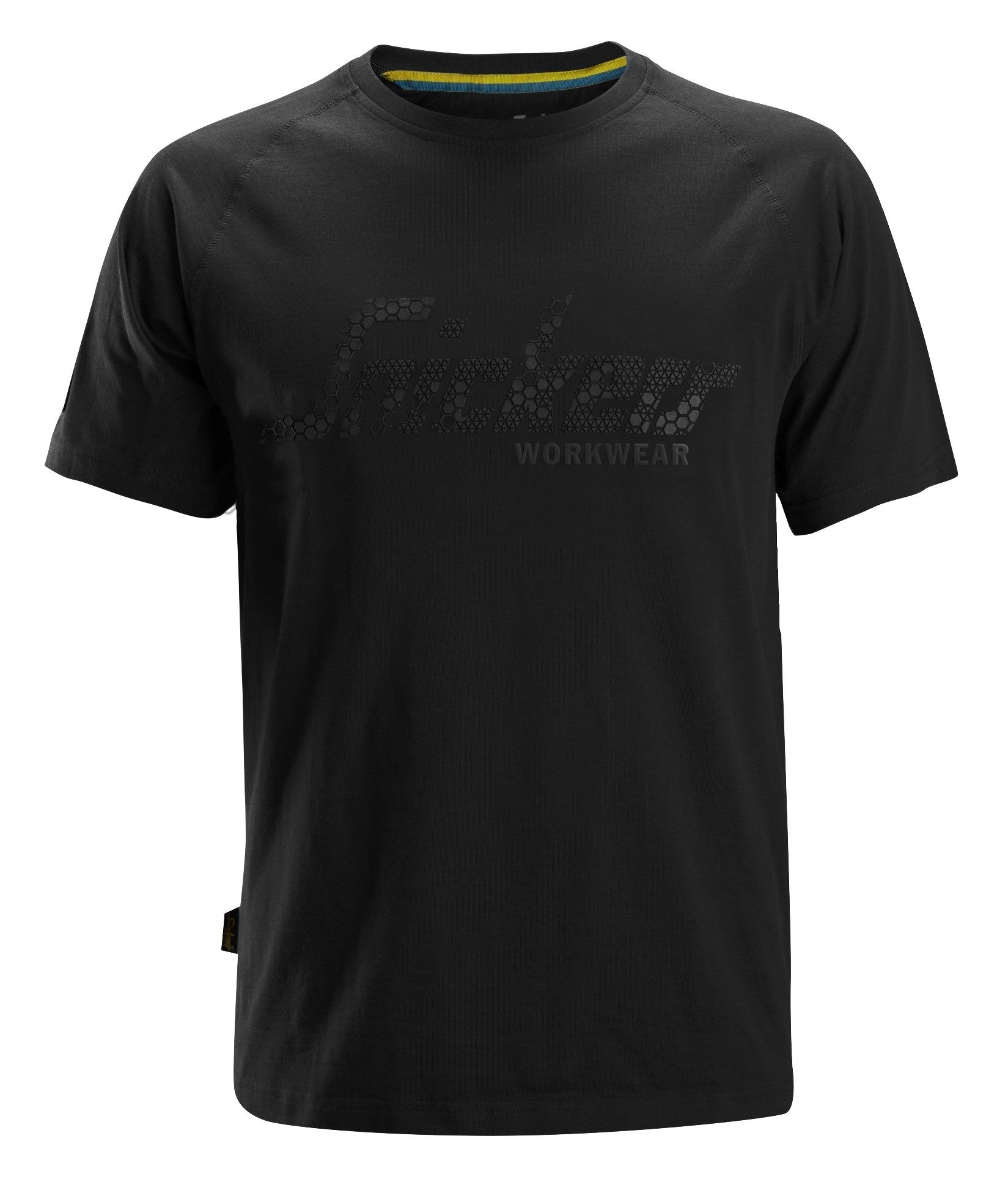 Snickers 2580 Logo T-Shirt Black