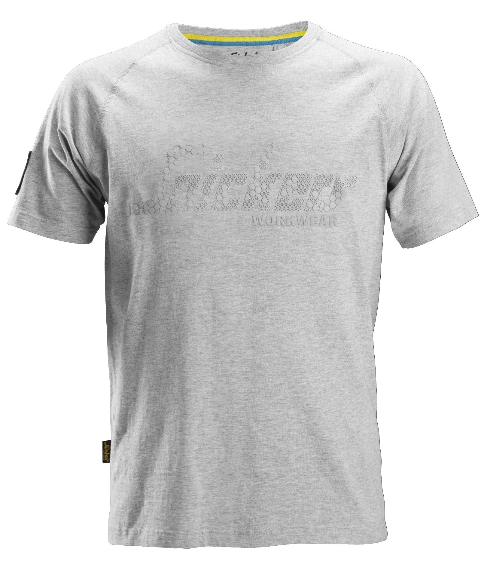 Snickers 2580 Logo T-Shirt Grey