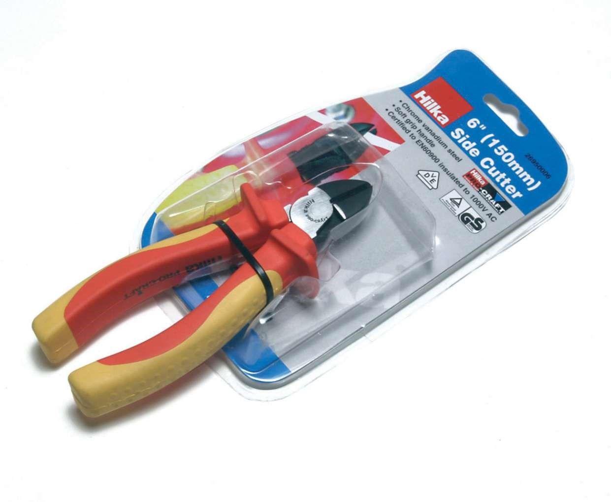 "Hilka Pro Craft VDE 6"" Side Cutters"