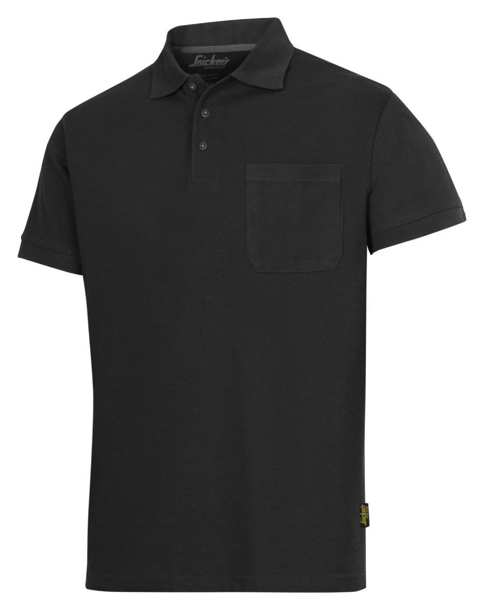 Snickers 2708 Classic Polo Shirt Black